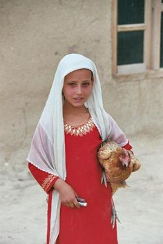 Fatima, a young girl in a village outside of Jalalabad in Afghanistan. [x]
