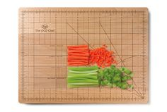 "If your hostess is a kitchen-gadget aficionado, this OCD ""Obsessive Chopping Disorder"" Cutting Board is perfection. Gift For Architect, My Ocd, Take My Money, Thing 1, Bamboo Cutting Board, Cutting Boards, Wood Cutting, Hostess Gifts, Kitchen Accessories"