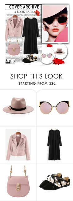 """SheIn 4/II"" by hedija-okanovic ❤ liked on Polyvore featuring Eugenia Kim, Fendi and shein"