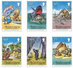 Literary Stamps: Kipling, Rudyard (1865 – 1936)