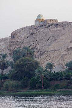 Nile river, Luxor and Edfu, Egypt.