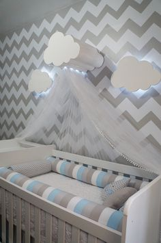 Feel inspired by the most exclusive lighting designs for kids and upgrade your k. Baby Boy Room Decor, Baby Room Design, Baby Bedroom, Baby Boy Rooms, Baby Boy Nurseries, Nursery Room, Girl Room, Kids Bedroom, Nursery Inspiration
