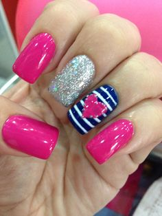 Best Nails Design Rosa So Cute Valentines Day Ideas Nail art is an innovative way to paint, decorate