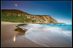 South Africa - Natures Valley: Moon Rise by John & Tina Reid, via Flickr. Natures Valley is where my aunt Suzette lives.