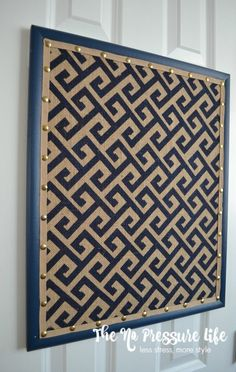Learn how to cover a corkboard with fabric and ribbon! This easy DIY cork board makeover will turn a plain bulletin board into a fun spot for kids artwork. Ribbon Bulletin Boards, Office Bulletin Boards, Fabric Corkboard, Corkboard Decor, Corkboard Ideas, Diy Cork Board, Cork Board Walls, Diy Memo Board, Displaying Kids Artwork