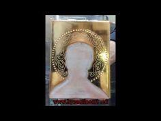 Art Icon, Painting Videos, Orthodox Icons, Byzantine, Ikon, Gold Leaf, Mosaic, Museum, Leaves