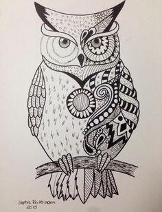 Owl by SoReit on DeviantArt