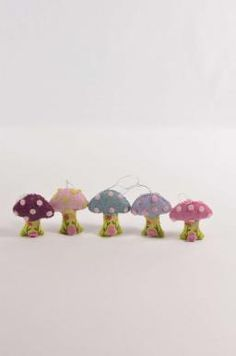 Hanging Mushroom: Lilac