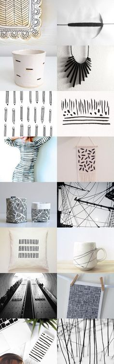 Lines and dashes  by Gilberto Vavalà on Etsy--Pinned with TreasuryPin.com