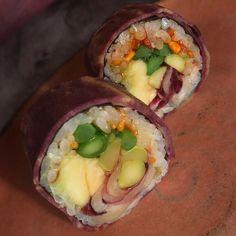 Maki sushi vegano / Vegan Sushi  #gastronomia #foodporn #food #vegan #veganfood #vegano