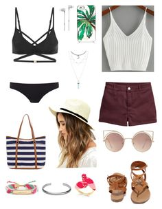 """""""Beach day """" by solia-horn on Polyvore featuring L'Agent By Agent Provocateur, Paul Smith, LULUS, Kate Spade, MANGO, Accessorize, Master & Dynamic, Breckelle's and Maison Margiela"""