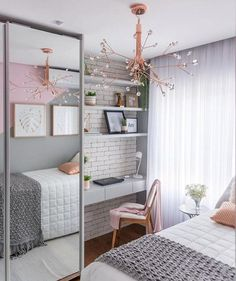 Decorating small bedroom ideas look stylish and space saving . Decorating small bedroom ideas look stylish and space saving Diy Abschnitt, Room Makeover, Room, Room Design, Small Bedroom Decor, Small Room Bedroom, Apartment Decor, Room Decor, Room Decor Bedroom, Bedroom Decor