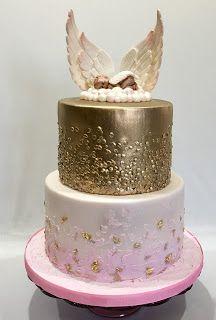 Angel Wings Cake Angel Cake Designs