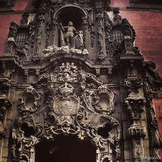 Fachada del antiguo Hospicio, hoy Museo Municipal de Madrid. Churriguera. Madrid Photo by dglezpastor