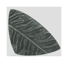 Plant Fern Leaf Fossil Cabochon St Clair by FenderMinerals on Etsy,