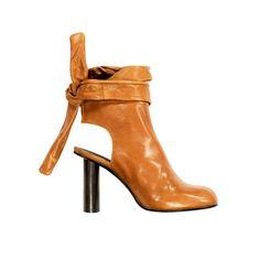 Bota Feminina Meio Cano Confort Shoes Couro Grécia Bordo