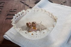 vintage lace bowl  - a modern way to enjoy Nan's favourite doilies