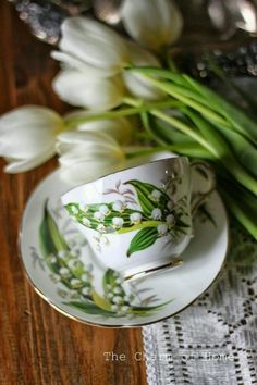 Lily of the valley tea set❤
