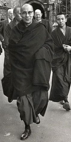His Holiness the 14th Dalai Lama of Tibet. S)