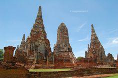 Ayutthaya, Wat Chai Wattanaram #Thailand http://www.viaggiaescopri.it/ayutthaya-capitale-dei-templi-thailandia/