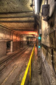 Toronto Subway tunnel 2 by Logan Hicks, via Flickr
