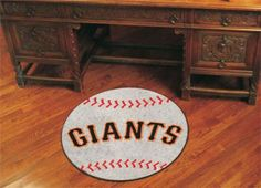 MLB San Francisco Giants Baseball Shaped Accent Rug