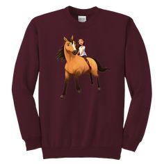4878d3a0 17 Best Kids DreamWorks Spirit Riding Free - Lucky & Spirit T-Shirt ...