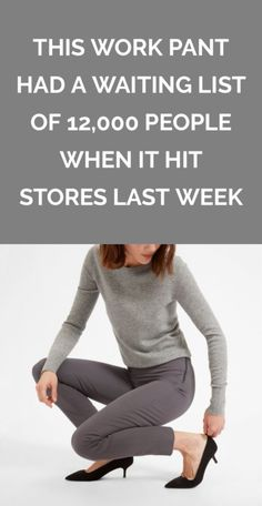 This Work Pant Had a Waiting List of 12,000 People When it Hit Stores Last Week | The internet totally lost it over Everlane's newest pair of trouser pants, but are they really worth the buzz?