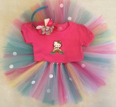 A personal favorite from my Etsy shop https://www.etsy.com/listing/267353854/kitty-tutu-set-with-headband