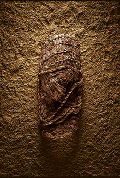 Sagebrush, bark fiber, Sandal Fort Rock Cave, Oregon, 8500 B.C.