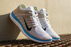 "Nike WMNS Free 4.0 Flyknit ""Multi-Color"""