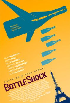 Bottle Shock, the blind taste test that put CA on the proverbial wine region map!
