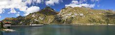 https://flic.kr/p/qpU588 | Landscape Mountain lake | Lake of Fedaia , Passo Fedaia near Marmolada, italian dolomites