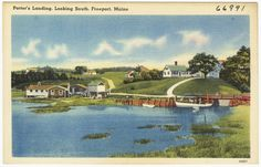 Porter's Landing, Looking South, Freeport, Maine