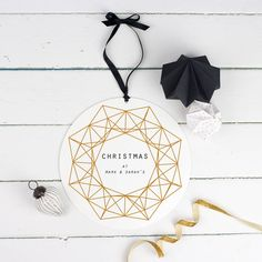 Our gold christmas wreath sign is the perfect oversized Christmas decoration.