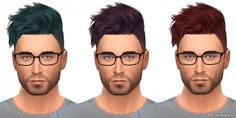 Simista: May Sims Hair 14 M • Sims 4 Downloads