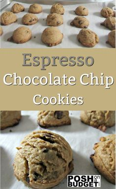 Espresso Chocolate Chip Cookies-Check out what I just made with my new mixer! Espresso Chocolate Chip Cookies KitchenAid http://poshonabudget.com/…/espresso-chocolate-chip-cookies-…  #ad