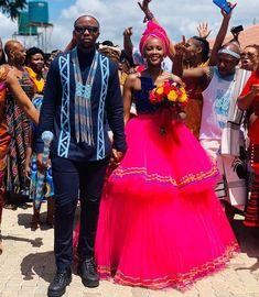 Pedi Traditional Attire, Sepedi Traditional Dresses, African Traditional Wear, African Traditional Wedding Dress, Traditional Wedding Decor, African Wedding Attire, African Attire, African Dress, African Weddings