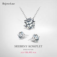 Bejewel.me ● Srebrny komplet ● www.Bejewel.me/srebrny-komplet-763#gold #necklace #sweet #silver #earrings #jewellery #cheap #jewels #details #fashion #jewelleryfreak #jewelleryobcessed #jewellerylover #beautiful #blingbling #free #shipping #cheapandchic