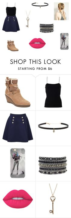 """""""Sabrina Martin"""" by leah-holly-walker ❤ liked on Polyvore featuring John Lewis, T By Alexander Wang, Tommy Hilfiger, Carbon & Hyde, Lime Crime and Warehouse"""