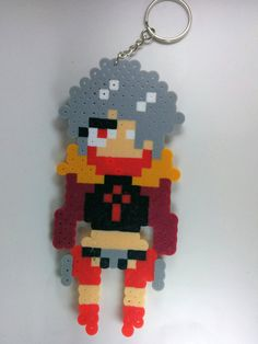 New to PixelArtLove on Etsy: Bakuretsu Tenshi Burst Angel Jo Keychain Ornament (10.00 USD)