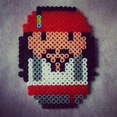Jack Sparrow hama beads by nuskyartesania