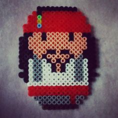 Jack Sparrow hama beads by nuskyartesania