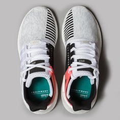 adidas EQT Support 93/17 (White / Core Black / Turbo)