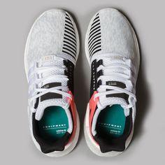 adidas EQT Support 93/17 (White / Core Black / Turbo)
