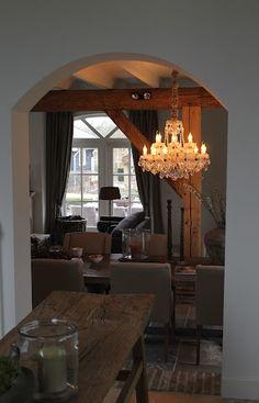 mooie spots en houten balken