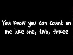 Bruno Mars - Count On Me - YouTube