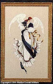 Angel of Hope...Cross Stitch pattern by Marilyn Leavitt Imblum
