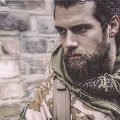 That look says it all! - A fierce looking Henry Cavill