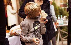 Kinder – Kapuzenpullover Seemann